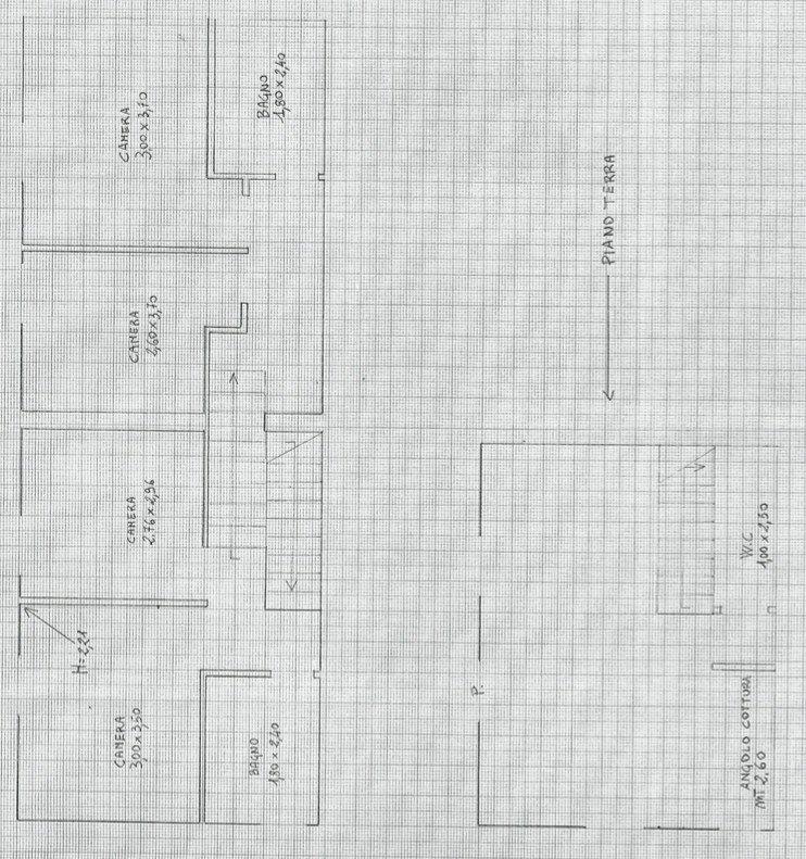 Villa plurifamiliare Carsoli pianta